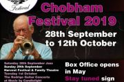 Flowers at Chobham Festival 2019