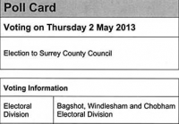 Surrey County Council elections