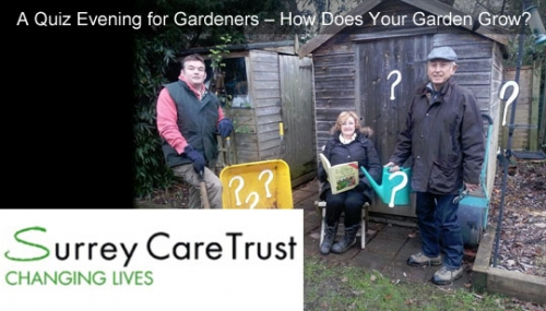 A Quiz Evening for Gardeners - How Does Your Garden Grow?