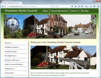 New Website for the Parish Council