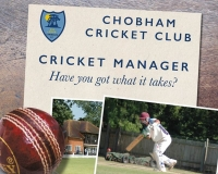 Cricket Manager for Chobham Cricket Club